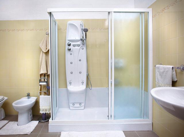 Funzionamento della nuova cabina doccia remail - Sostituzione vasca bagno con doccia ...
